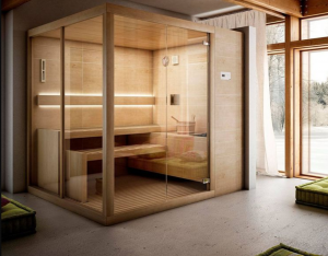 where to put sauna in home